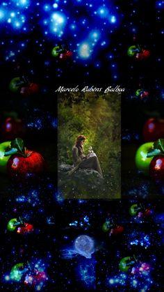 Sentada en el brazo de un manzano, mirando en perspectiva sus recuerdos, la que no tiene nombre,pero si un apellido,deshoja los azhares. ...