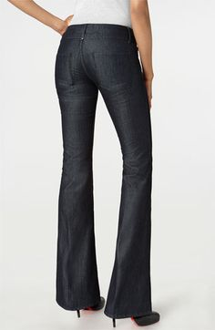 """""""shiny"""" jeans - perfect for work"""