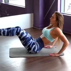 Fitness Workouts, Fitness Workout For Women, Butt Workout, Fitness Tips, Workout Bauch, Gym Routine, Workout Challenge, Physical Fitness, Excercise
