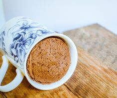 Gotta try this!!! Easy 3-Minute Coconut Flour & Chocolate Mug Cake - GF & Paleo | GoodnessGreen