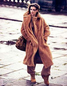 More oversized camel coat love...this one in particular by Max Mara.