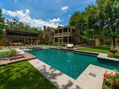 Luxus Pool Family Pool Im Garten
