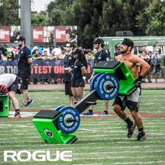 Rich Froning flipping The Pig