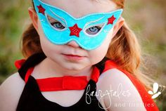 Superhero Mask Dress Up Halloween Costume - Super Hero Mask on Etsy, $12.00