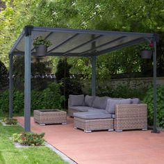 Shop a great selection of Milano 10 Ft. W x 10 Ft. D Aluminum Patio Gazebo Palram. Find new offer and Similar products for Milano 10 Ft. W x 10 Ft. D Aluminum Patio Gazebo Palram. Patio Gazebo, Garden Gazebo, Patio Roof, Diy Pergola, Pergola Kits, Backyard Landscaping, Landscaping Ideas, Cheap Pergola, Pergola Roof