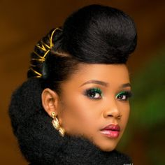 Great Hairstyles, Creative Hairstyles, Afro Hairstyles, Black Women Hairstyles, Wedding Hairstyles, Natural Hair Braids, Braids For Black Hair, Natural Hair Styles, Eyebrow Makeup Tips
