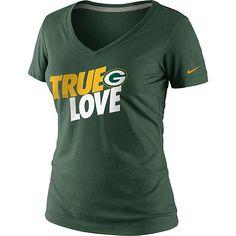 Women's Nike Green Bay Packers True Love T-Shirt - NFLShop.com (Truth.)