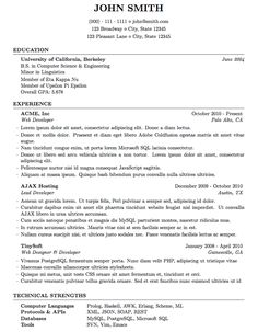 Medium Length Professional CV/Resume Template