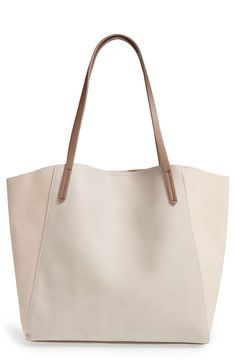 Absolutely adoring this essential tote in a neutral tone that is perfect for everyday wear. / @nordstrom