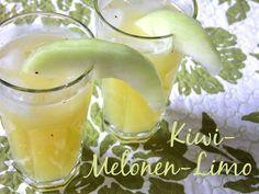 kiwi-melon lemonade