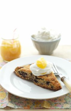Blueberry Scones and Lemon Curd via DeliciouslyOrganic.net #paleo #grainfree