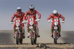 Himoinsa Team: Rosa Romero, Antonio Gimeno y Miguel Puertas Rally, Puertas