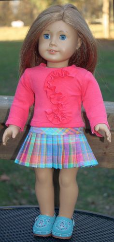 + pleated plaid skirt for American Girl Dolls made with Liberty Patterns Source by clothingtop + pleated plaid skirt for American Girl Dolls made with Liberty Patterns Source by clothing Foto Pitter Patter: Fleece Mittens tutorial Mittens Pattern American Girl Crafts, American Doll Clothes, Ag Doll Clothes, Doll Clothes Patterns, American Dolls, Doll Patterns, Journey Girls, Girl Dolls, Ag Dolls