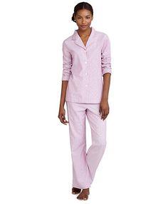 Brushed Cotton Mini Stripe Pajamas Brooks Brothers