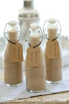 Homemade Baileys Irish Cream More