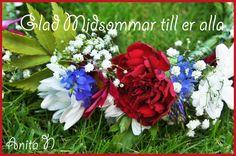 Glad Midsommar Men se god morgon mina vänner då var det midsommar aftons morgon och jag vill bara titta in och säga glad midsommar till er alla och önska att ni alla får en riktigt trevlig dag med dans, god mat i alla vänners lag så Glad Midsommar Cabbage, God Mat, Vegetables, Lag, Plants, Design, Blogging, Cabbages