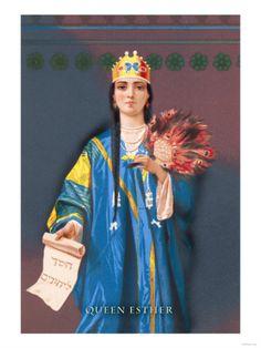 Queen Esther Premium Poster