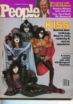 Kiss 1980 People Magazine Eric Carr Ace Frehley | eBay