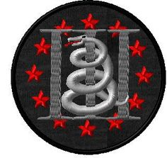 OMLpatches.com - 3 Percenter Snake Morale Patch, $6.50 (http://www.omlpatches.com/3-percenter-snake-morale-patch/)