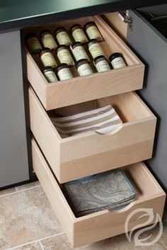 Storage and Organization - spaces - indianapolis - Greenfield Cabinetry