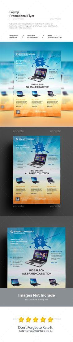 Laptop Promotional Flyer