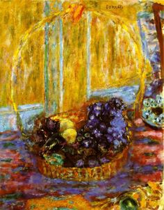Basket of Fruits - Pierre Bonnard