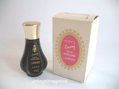 COTY L'Aimant mini bottle for 'Creamy Skin by VintageImageBox, £3.95