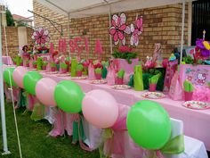 """Hello Kitty Floral"" Party"