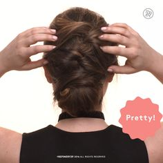 A lauren conrad inspired updo. a lauren conrad inspired updo 2017 prom hairstyles Braided Updo For Short Hair, Short Hair Styles Easy, Braided Hairstyles Updo, Trendy Hairstyles, Wedding Hairstyles, Curly Hair Styles, Short Cuts, Hairdos, Hairstyles Videos