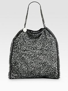 Stella McCartney Falabella Tweed Tote
