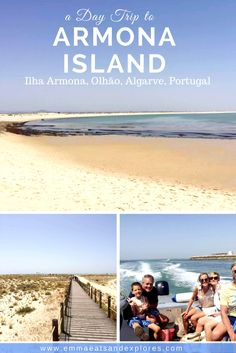 Armona Island (Ilha Armona) Algarve, Portugal - Idyllic island reached by ferry from Olhao port. European Travel Tips, Europe Travel Guide, Travel Guides, Travel Destinations, Travel Advice, Spain And Portugal, Portugal Travel, Algarve, Lombok