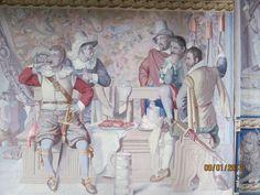 Friedricksborg Castle. The date of the fresco is 1611