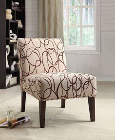 Aberly Espresso Accent Chair 59070