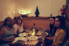 Having my favorite Thai dinner with my lovely friends