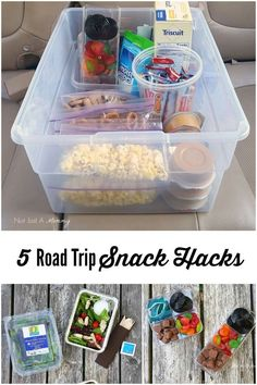 Hit the road with 5 road trip snack hacks and enter to The Best Road Trip Ever sweepstakes; #RoadTripHacks #Safeway #ad