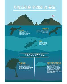 infographic / 인포그라픽 / 인포그래픽 / DokDo / 독도 / Design / 디자인 / 연습