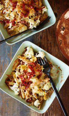 Uunipasta | Maku My Cookbook, Food Inspiration, Baking Recipes, Cauliflower, Good Food, Food And Drink, Favorite Recipes, Vegetables, Cooking