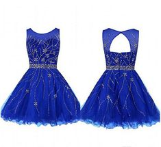 2016 Royal Blue Homecoming Dresses,,Cheap Homecoming Dresses,Simple Homecoming Dresses,Backless Homecoming Dresses,Cocktail Dresses,Pretty Graduation Dresses,Party Dresses