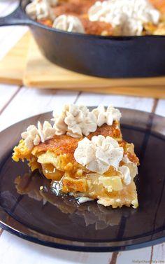 easy-skillet-apple-pie  HollysCheatDay.com