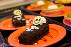 Jack Skellington chocolate coffin cake!