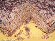 Voňavá orechová marlenka z liateho cesta alebo pravý medovník Russian Recipes, Christmas Cookies, Banana Bread, Sweets, Baking, Cake, Christmas Recipes, Gardening, Basket