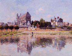 Claude MONET - Vue de l'église de Vernon, 1883