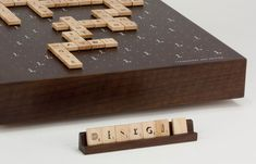 typography scrabble
