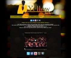 Band Website Love: The Yellow Jackets