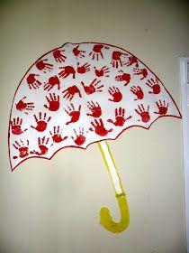 RECURSOS DE EDUCACIÓN INFANTIL: LA FIESTA DEL COLOR ROJO Autumn Crafts, Autumn Art, Summer Crafts, Diy And Crafts, Crafts For Kids, Arts And Crafts, Preschool Classroom Decor, Preschool Art, Preschool Activities