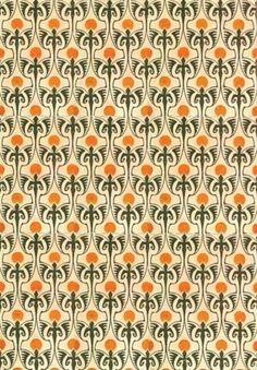 Textile design by Bernhard Wenig, produced in 1901