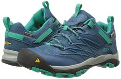 KEEN Women's Marshall Waterproof Hiking Shoe * Continue to the product at the image link. (This is an affiliate link) #HikingShoes Hiking Shoes, Nike Huarache, Image Link, Teal, Sneakers Nike, Indian, Green, How To Wear, Bags