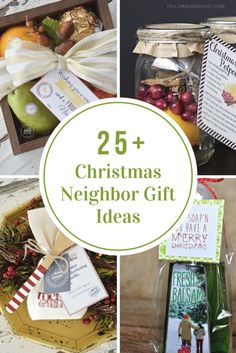 Christmas Neighbor Gift Ideas