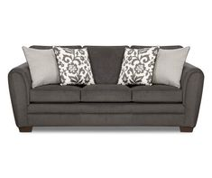 I found a Flannel Charcoal Sofa at Big Lots for less. Find more at biglots.com!
