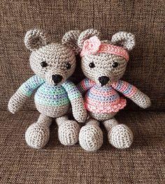 Jerry the Bear pattern